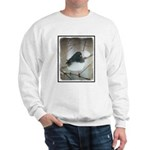 Dark-Eyed Junco Watercolor Sweatshirt