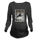 Dark-Eyed Junco Wate Long Sleeve Maternity T-Shirt