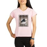 Dark-Eyed Junco Watercolor Performance Dry T-Shirt