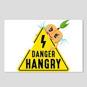 Emoji Peach Hangry Postcards (Package of 8)