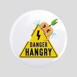 Emoji Peach Hangry Button