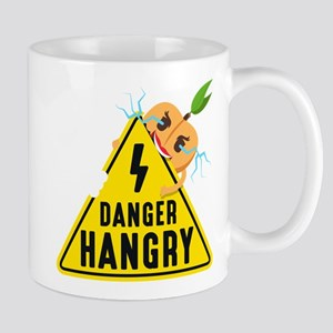 Emoji Peach Hangry 11 oz Ceramic Mug