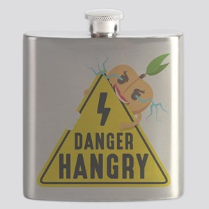 Emoji Peach Hangry Flask