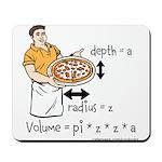 Pizza Volume Mousepad