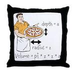 Pizza Volume Throw Pillow