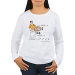 Pizza Volume Women's Long Sleeve T-Shirt
