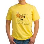 Pizza Volume Yellow T-Shirt