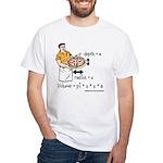 Pizza Volume White T-Shirt