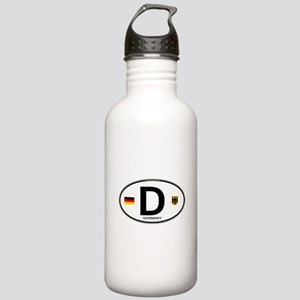 Germany Euro Oval Stainless Water Bottle 1.0L