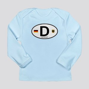 Germany Euro Oval Long Sleeve Infant T-Shirt