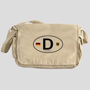 Germany Euro Oval Messenger Bag