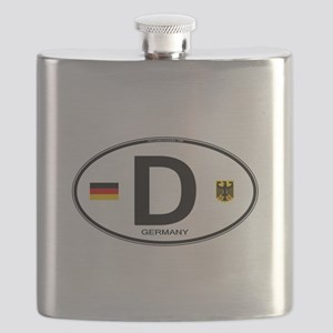 Germany Euro Oval Flask