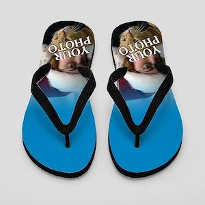 CUSTOM PHOTO Flip Flops