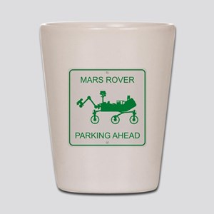 Mars Rover Parking Shot Glass