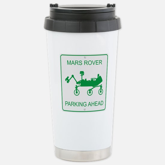 Mars Rover Parking Stainless Steel Travel Mug