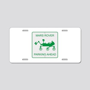 Mars Rover Parking Aluminum License Plate
