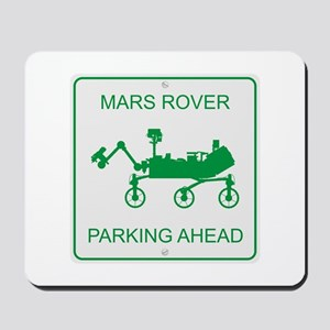 Mars Rover Parking Mousepad