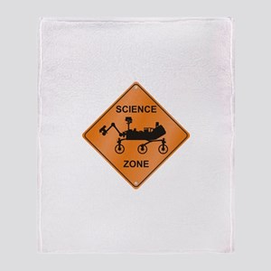 Mars Science Zone Throw Blanket