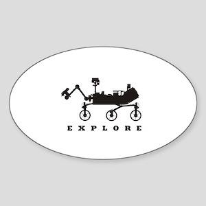 MSL – Explore Sticker (Oval)