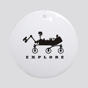 MSL – Explore Ornament (Round)