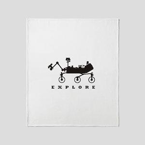 MSL – Explore Throw Blanket