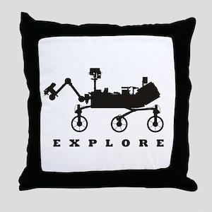 MSL – Explore Throw Pillow
