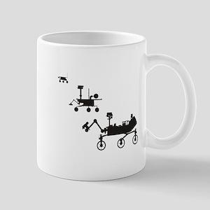 Mars Rovers Mug