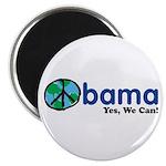 """ObamaYesWeCan.png 2.25"""" Magnet (10 pack)"""