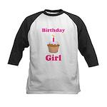 Birthday girl shirt Kids Baseball Jersey