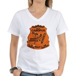 USS CANOPUS Women's V-Neck T-Shirt