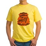 USS CANOPUS Yellow T-Shirt