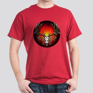 Hibiscus buck Dark T-Shirt