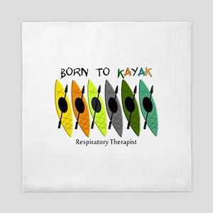 RT Born to Kayak Queen Duvet