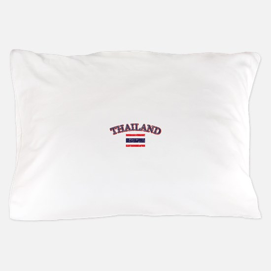 Thailand Flag Designs Pillow Case