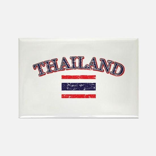 Thailand Flag Designs Rectangle Magnet