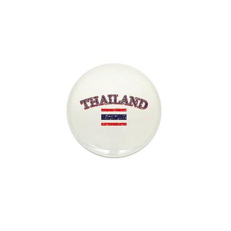Thailand Flag Designs Mini Button (10 pack)