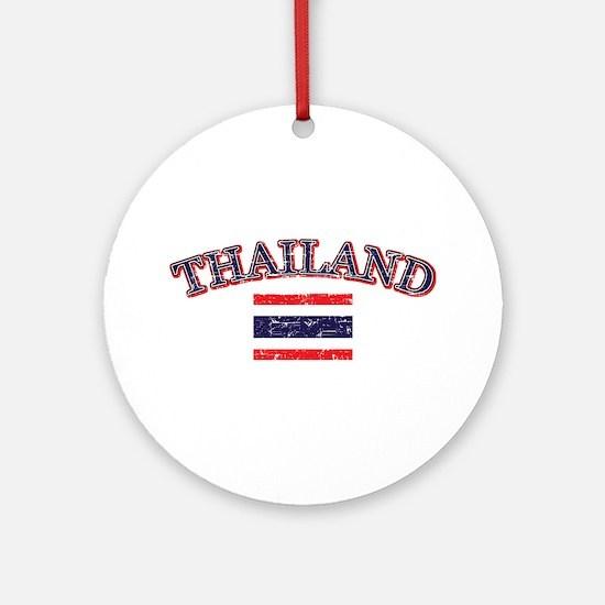 Thailand Flag Designs Ornament (Round)
