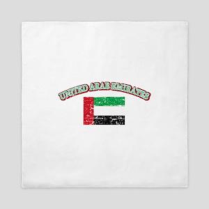 United Arab Emirates Flag Designs Queen Duvet