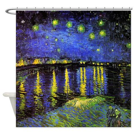 Van go starry night bathroom decor