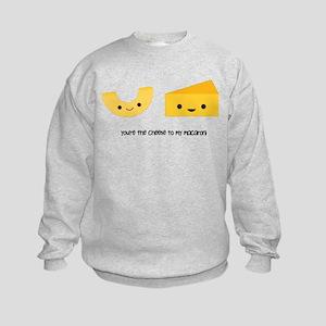 You're the cheese to my macaroni Kids Sweatshirt