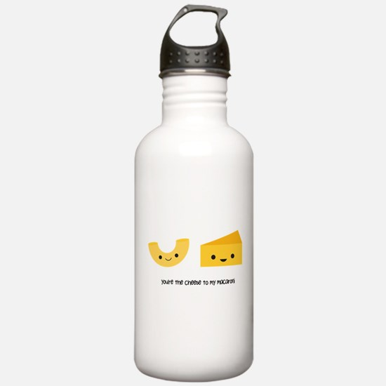 You're the cheese to my macaroni Water Bottle