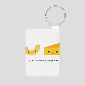 You're the cheese to my macaroni Aluminum Photo Ke
