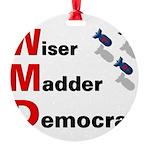 WMDemo_btn Round Ornament