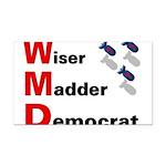 WMDemo_btn Rectangle Car Magnet