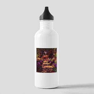 Path In Monet's Garden Stainless Water Bottle 1.0L