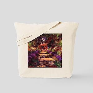 Path In Monet's Garden Tote Bag