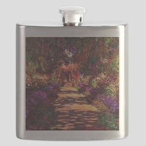 Path In Monet's Garden Flask