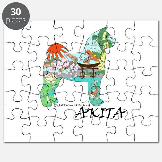Akita National Treasure Puzzle