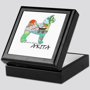 Akita National Treasure Keepsake Box