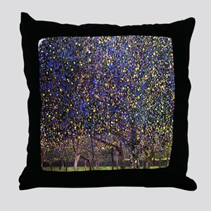 Gustav Klimt Pear Tree Throw Pillow